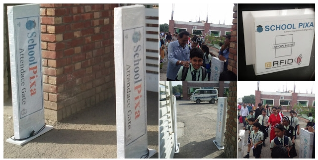 RFID Gate Reader for School Walk Through Attendance